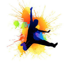 colourful image of man dancing