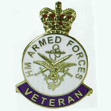 Armed Forces Badge for Veterans